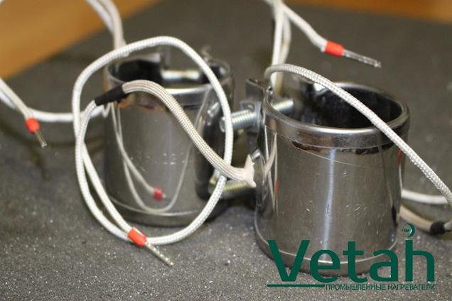 Фото миканитовый хомутовый нагреватель для термопластавтомата