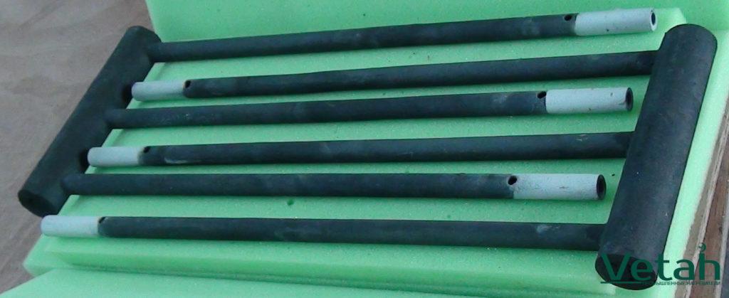 Фото карбидокремниевый нагреватель тип Ш
