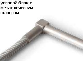ТЭНы патронные угловой на квадрате заделка провода в гофре