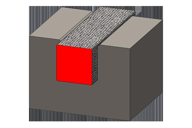 Гибкие ТЭНы квадратное сечение